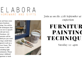 Furniture Painting for beginners