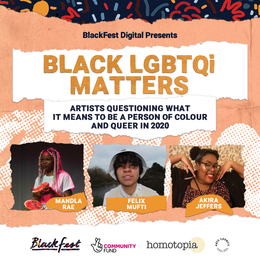 BlackFest Digital 2020: Black LGBTQi+ Lives Matter