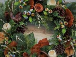 Make North Docks: Natural Wreath Making