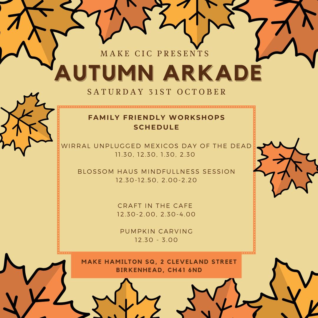 Make. Hamilton: Autumn Arkade