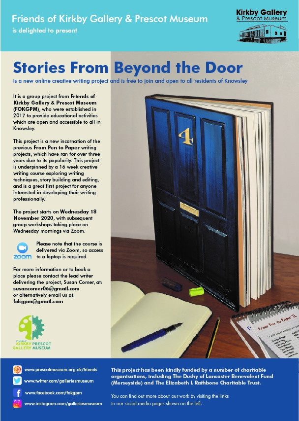 Kirkby Gallery (Online): Stories from Beyond the Door