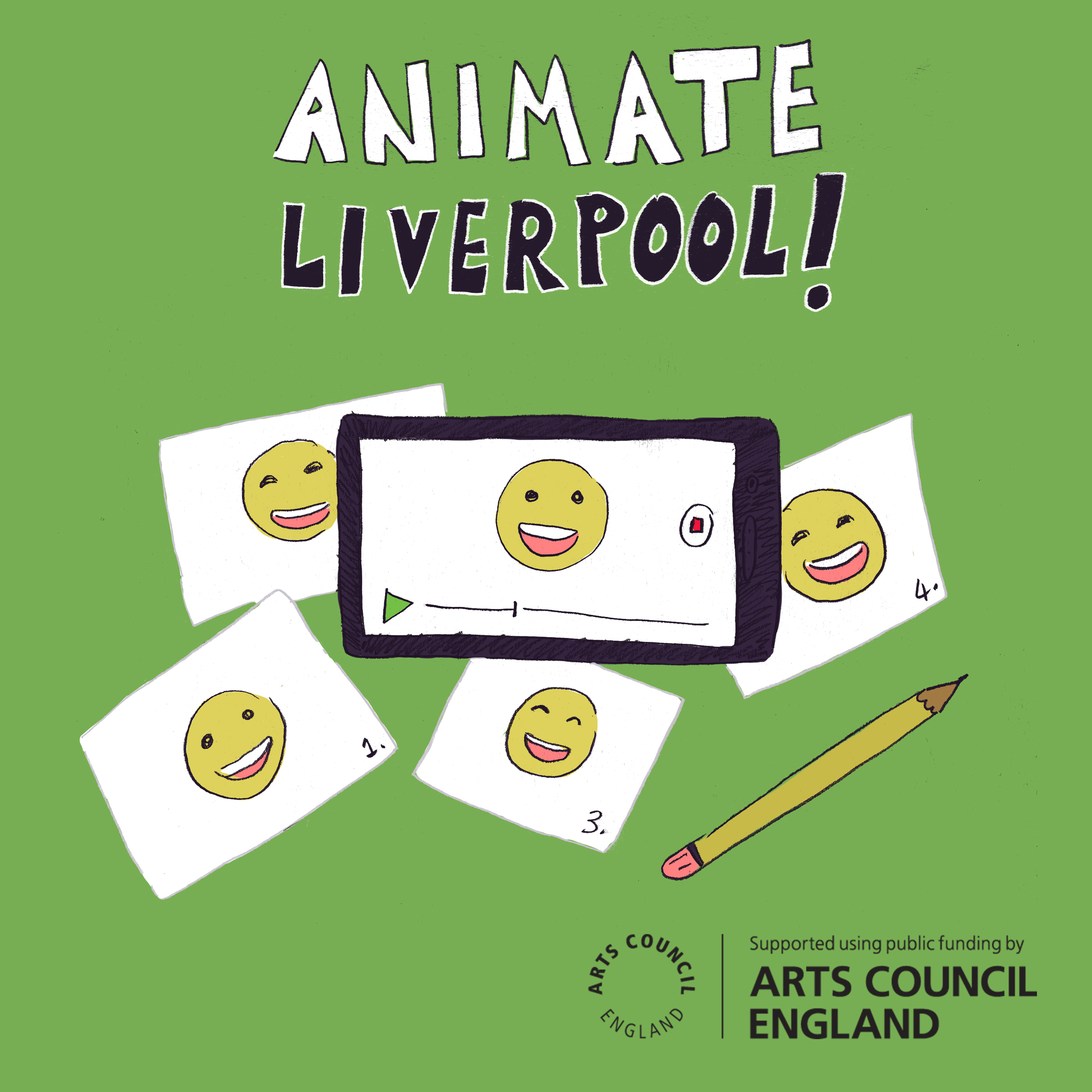 Online: Animate Liverpool, with Cath Garvey