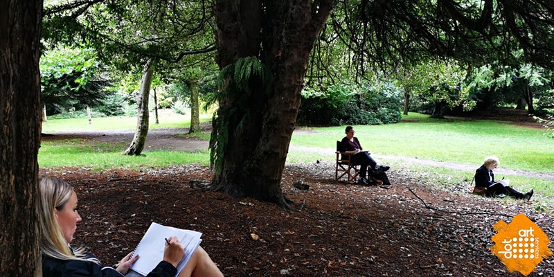 dot-art: Sketching in the Park