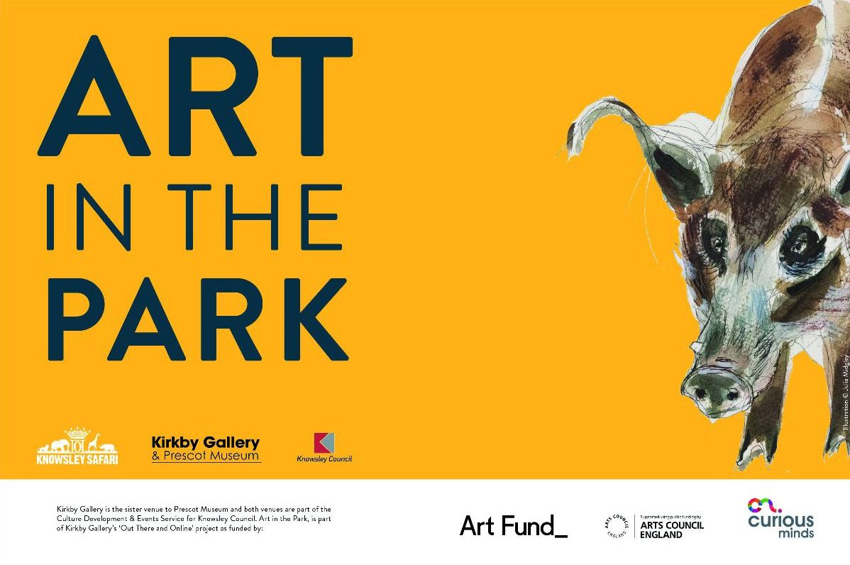 Kirkby Gallery & Knowsley Safari Park: Art in the Park - Safari Scribblers (KS2/3)