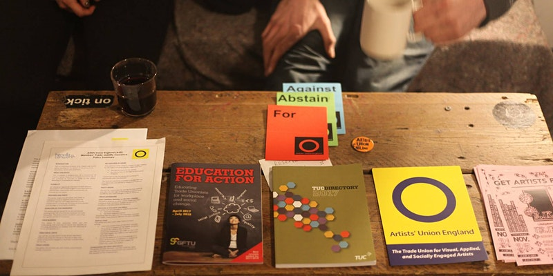 Artists' Union England at Independents Biennial