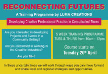 LUMA Creations:  Reconnecting Futures: Training for artists