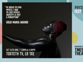 Toxteth TV: Physical Fest: In order to find myself, I had to lose myself.