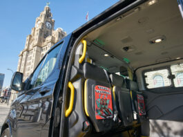 Liverpool Biennial: Taxi Ride:Superposition(2021) by Erick Beltrán