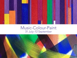 Arena Grounded Gallery: Ali Barker: Music-Colour-Paint