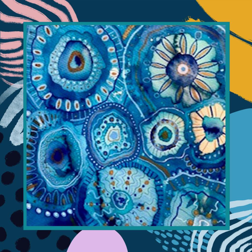 Merseymade: Mixed Media Organic Shapes and Patterns Workshop