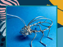 Merseymade: Wire Insect Making