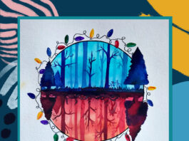 Merseymade: Stranger Things Watercolour