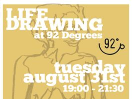 93 Degrees: Liverpool Life Drawing