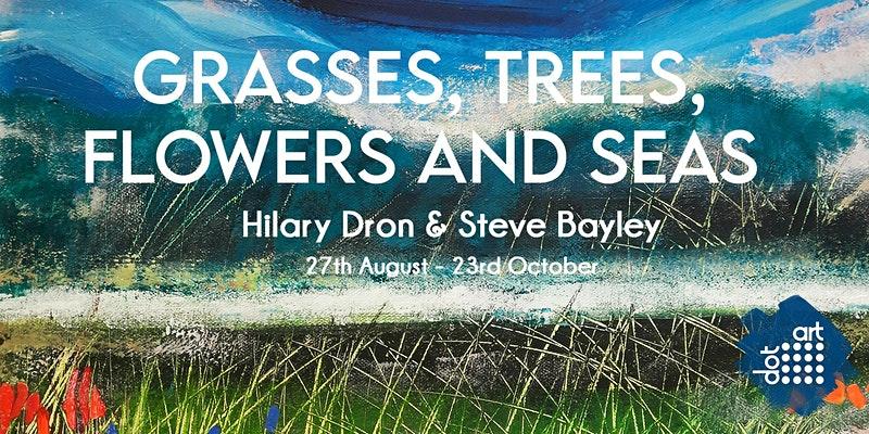 dot-art: Grasses, Trees, Flowers and Seas