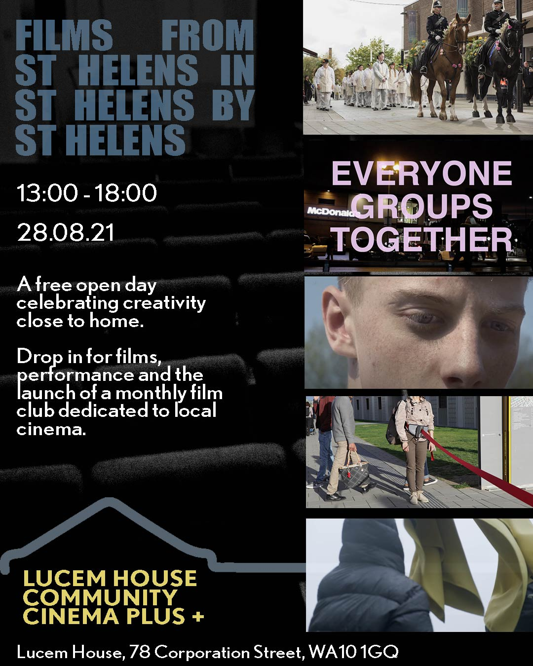 Lucem House: Film from St Helens in St Helens by St Helens