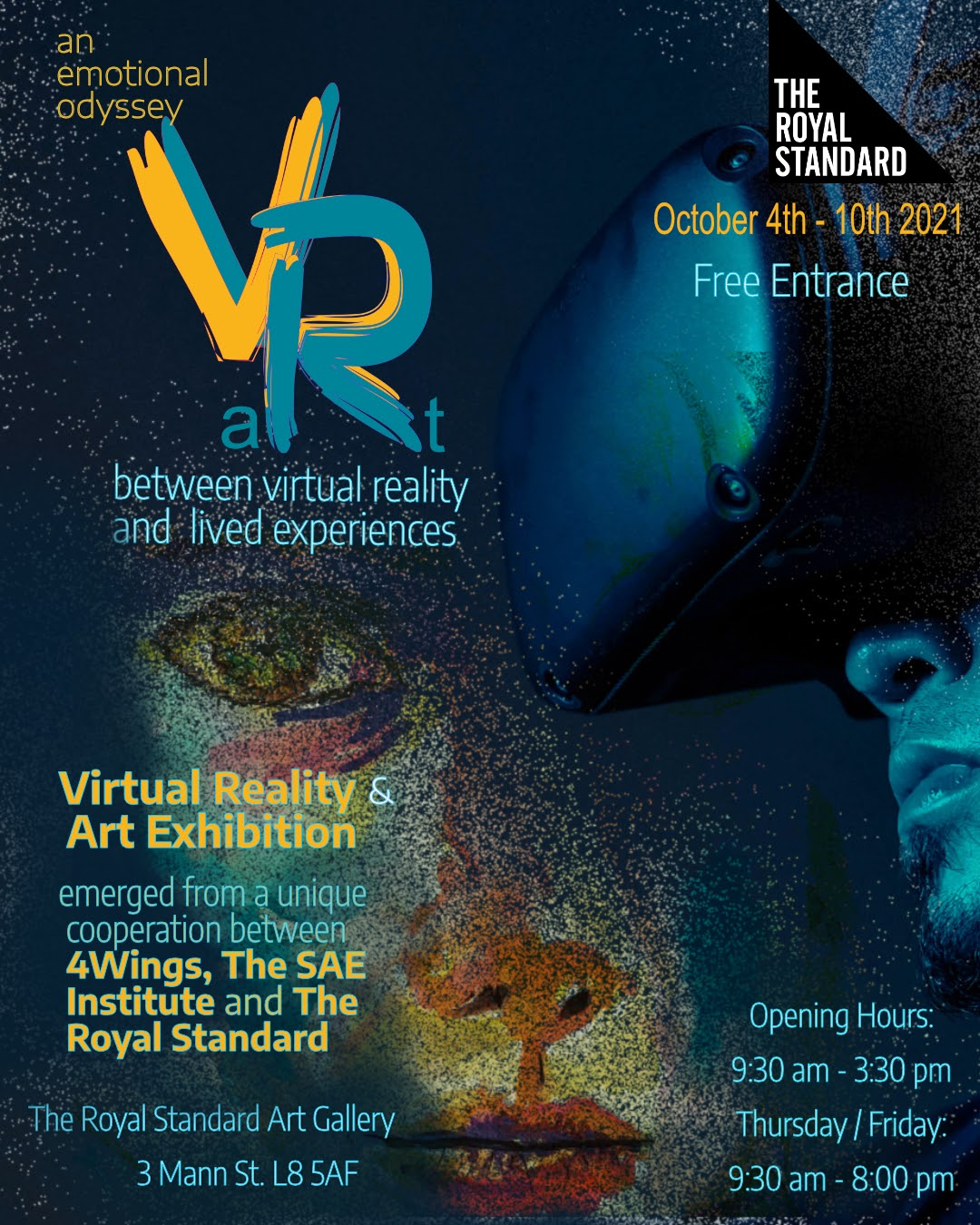 The Royal Standard: VaRt - An Exhibition by 4Wings